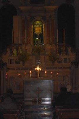 Ogni ultimo mercoledì del messe, viviamo questo bellissimo della lode e dell'momento di poter adorare Gesù